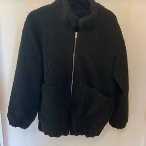 Zaful sherpa/teddy jacket